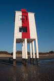 Burnham在海运灯塔 免版税库存图片