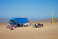 Burnham--θάλασσα, Somerset, UK στοκ φωτογραφίες με δικαίωμα ελεύθερης χρήσης