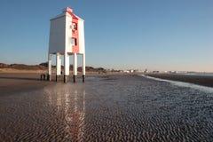 Burnham-auf-Meerleuchtturm lizenzfreie stockbilder