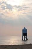 Burnham en el mar - faro Foto de archivo libre de regalías