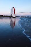 Burnham-en-mar inferior del faro Imágenes de archivo libres de regalías