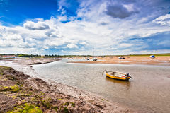 Burnham Estuary Royalty Free Stock Photography