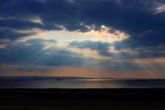 Burnham na morzu, Somerset, Anglia, UK Zdjęcie Stock
