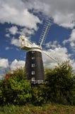 Burnham Overy Staithe Mill Imagen de archivo libre de regalías