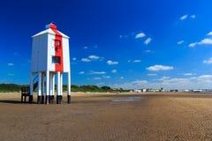 Burnham på havsfyren Royaltyfri Bild