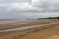 Burnham on Sea Beach Royalty Free Stock Photos