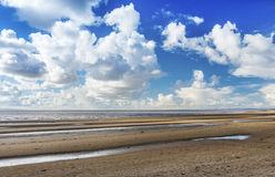 Burnham on Sea Beach. North Somerset England Royalty Free Stock Photography