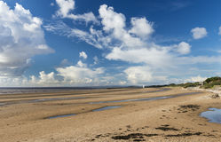 Burnham on Sea Beach. North Somerset England Stock Photography