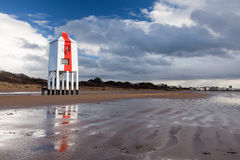 Burnham On Sea Lighthouse Somerset England Stock Photography