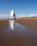 Burnham On Sea Lighthouse Somerset England. The Low 1832 Wooden Lighthouse at Burnham on Sea, Somerset England UK Europe stock photos