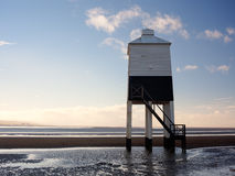 Burnham On Sea Lighthouse Somerset England Stock Images