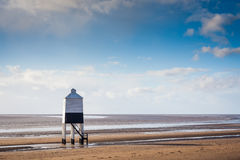 Burnham On Sea Lighthouse Somerset England Stock Image