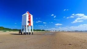 Burnham on Sea Lighthouse Royalty Free Stock Photo