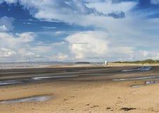 Burnham sur la plage de mer Photo libre de droits