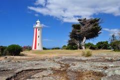 Burnie Lighthouse Tasmanien i Australien royaltyfri foto