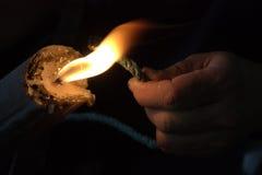 Burning Royalty Free Stock Image