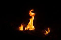 burning stock afbeelding