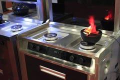 Burning appliance Stock Photo