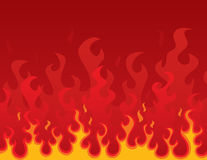 Burning Background Royalty Free Stock Photography