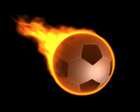 Burning Ball Royalty Free Stock Photo