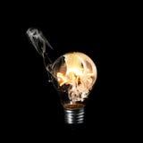 Burning ball Stock Photos
