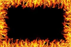 burning brandram Fotografering för Bildbyråer