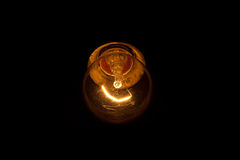Burning bulb Royalty Free Stock Images