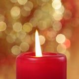 Burning candle Royalty Free Stock Photo