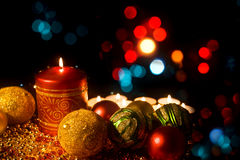 Burning candle royalty free stock photography