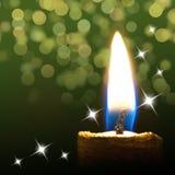 Burning candle Stock Photos