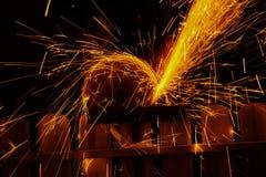 Spark spray Royalty Free Stock Image
