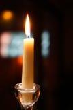 Burning candle Royalty Free Stock Photos