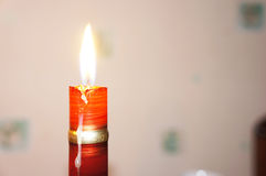 Burning candle Royalty Free Stock Images