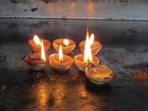 Burning candle Stock Photography