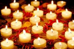 Free Burning Candles Royalty Free Stock Image - 61921166