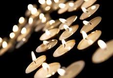 burning candles στοκ φωτογραφίες με δικαίωμα ελεύθερης χρήσης