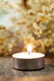 Burning candles Royalty Free Stock Photos