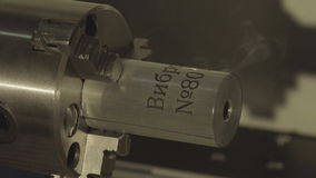 Burning and carving industrial laser stock video footage
