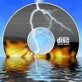Burning cd Stock Photos