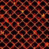 Burning Chain Link Royalty Free Stock Image