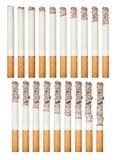 Burning cigarette Royalty Free Stock Image