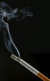 Burning cigarette Royalty Free Stock Images