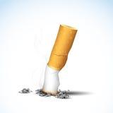 Burning Cigarette Stock Photography