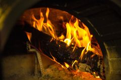 Rustic oven Stock Photos