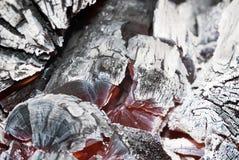 Burning de madeira Imagem de Stock
