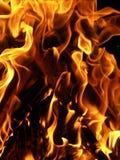 Burning de souhait d'Eve d'an neuf photo stock