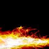 Burning del fuego ilustración del vector