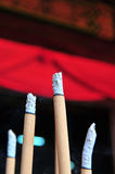 Burning del palillo de ídolo chino Imagen de archivo libre de regalías