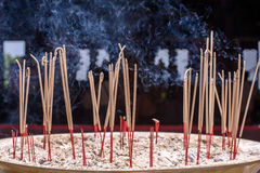 Burning di incenso Fotografia Stock Libera da Diritti