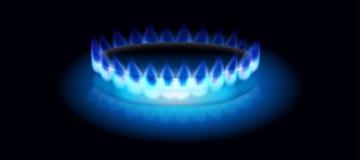 Burning do gás  Imagem de Stock Royalty Free